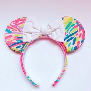 Sail Bows multi palm Minnie ears